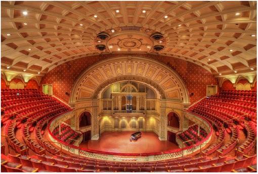 剧院建筑声学设计效果图