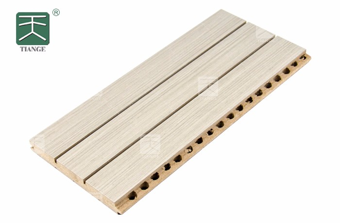 天戈体育馆槽木吸音板