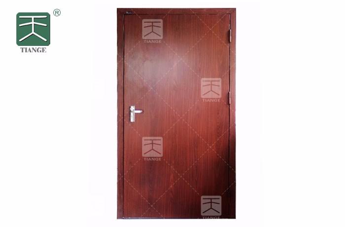 钢木复合隔音门和钢质隔音门