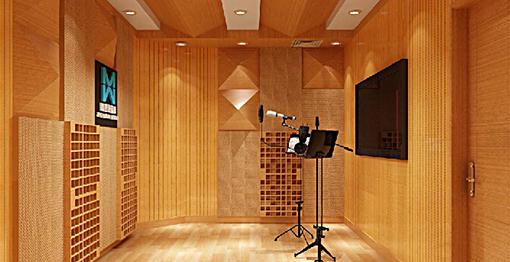 录音棚建筑声学设计效果图