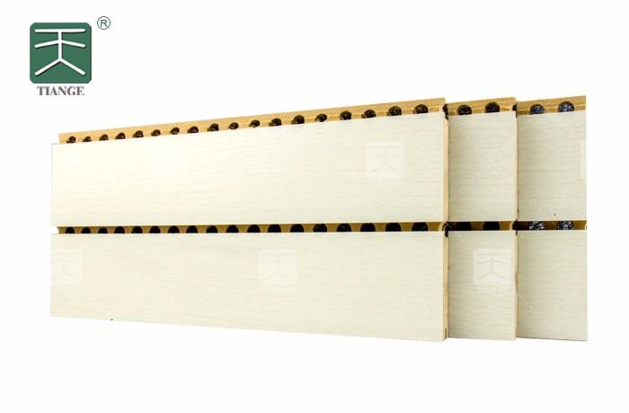 天戈报告厅槽木吸音板