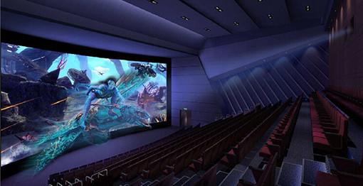 电影院建筑声学设计效果图