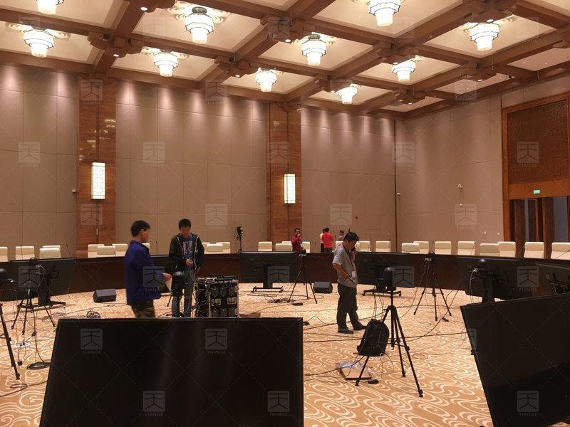 敦煌国际会展中心多功能厅完工2