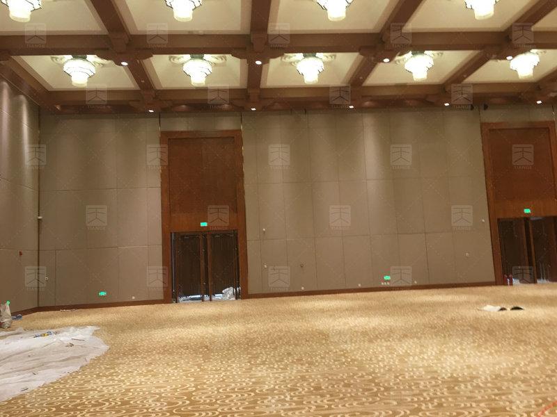 敦煌国际会展中心多功能厅施工完1