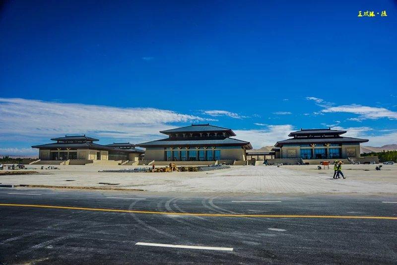 敦煌国际会展中心外观