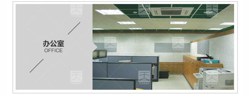 办公场所环保聚酯纤维吸音板案例