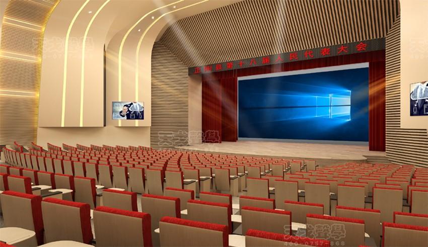河南正阳文化体育中心剧院声学设计工程