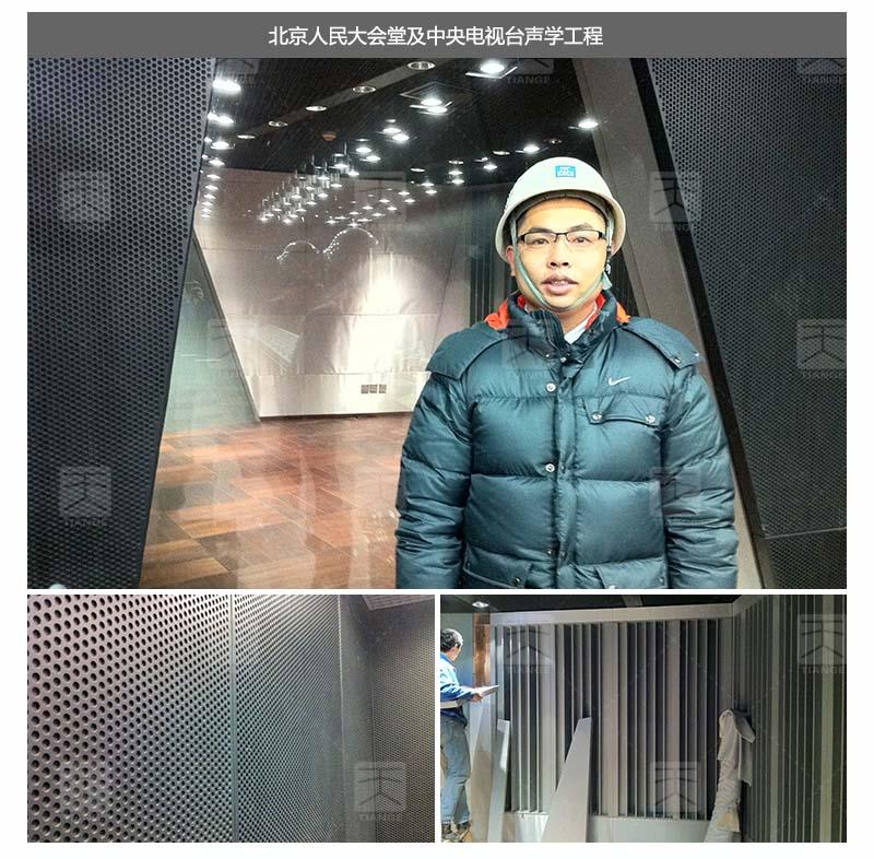 北京人民大会堂及中央电视台声学工程