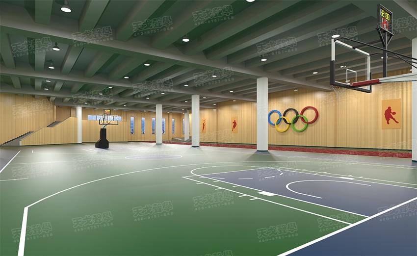 湖南长沙财经学院体育馆声学设计工程-0