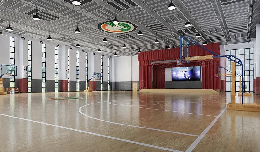 图1-体育馆建筑造型