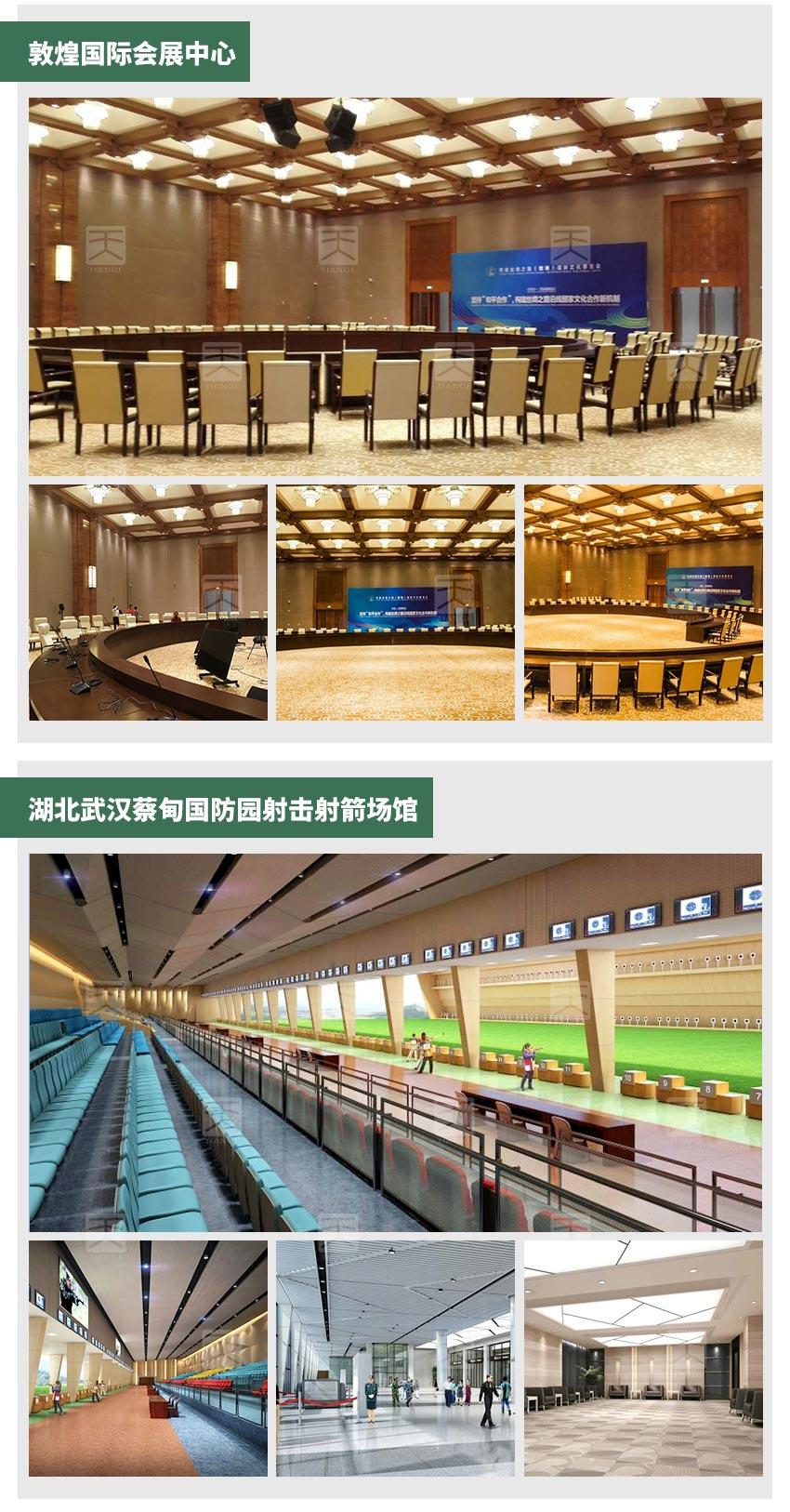 玻镁板槽木吸音板工程案例