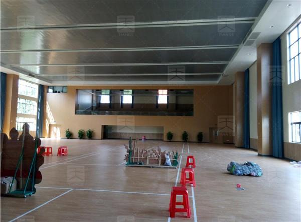 顺德养正西山学校活动中心声学工程完工