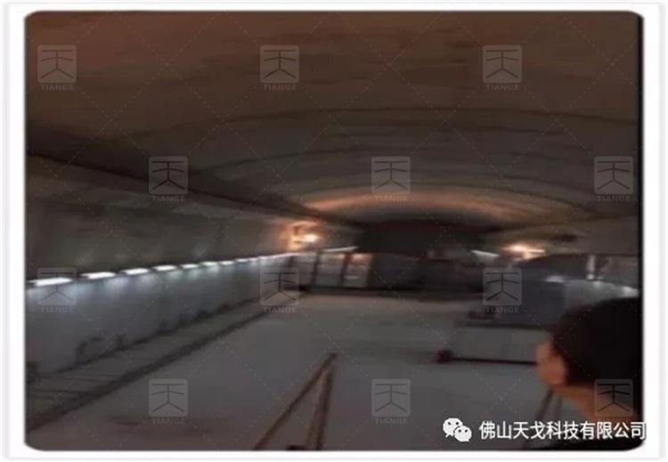 山西运城隧道内景图