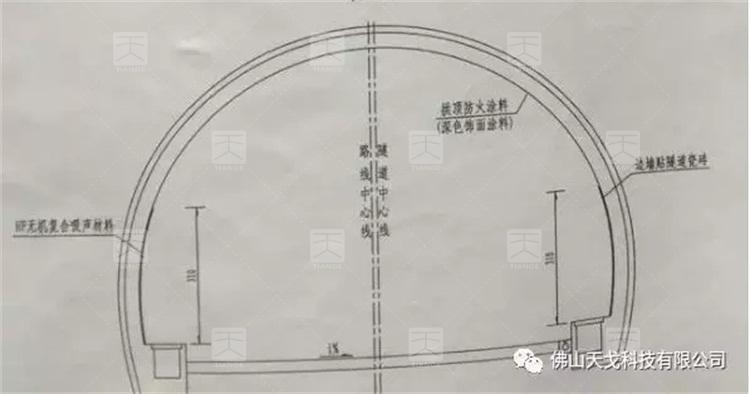 山西运城隧道设计图