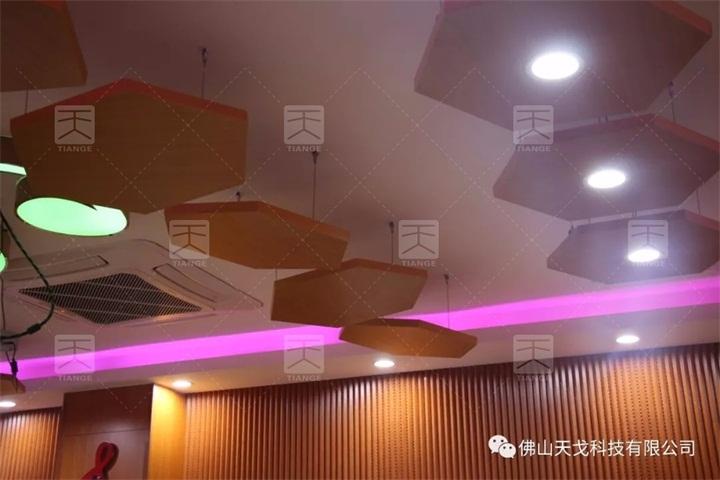 广州浩瀚文化传媒有限公司音乐排练室声学工程用到的反射板