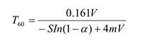 多功能厅声学设计方案:T60的计算公式