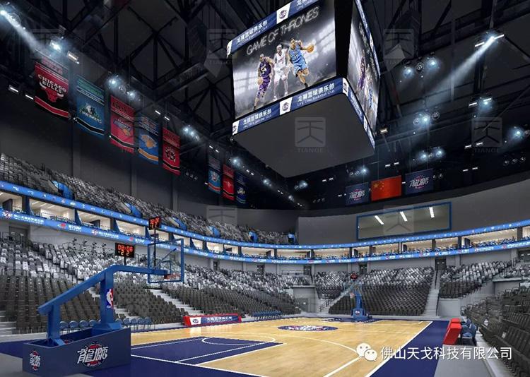 盘点中国八大NBA级别场馆