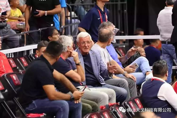 中国男足主教练马尔切洛·里皮