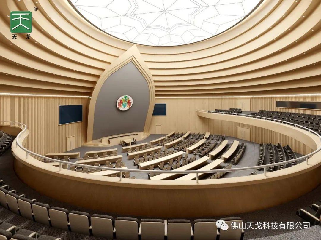 【冈比亚国际会议中心主题会议室】