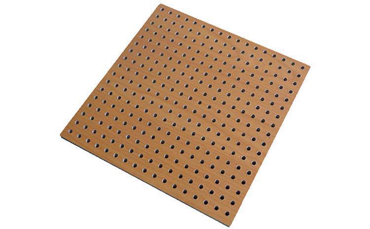 木纹穿孔吸音板