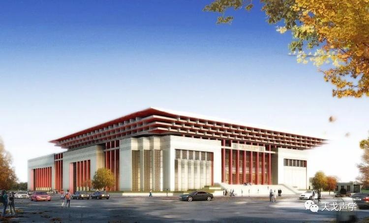乌鲁木齐京剧院设计效果图-1