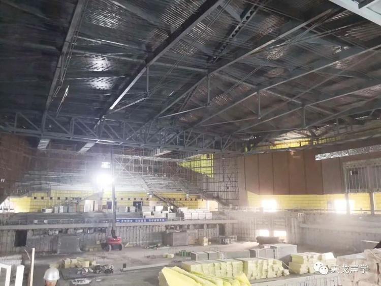重庆永川新区体育馆项目施工过程-1