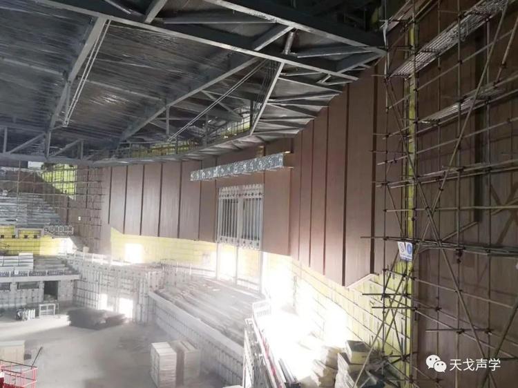 重庆永川新区体育馆项目施工过程-3