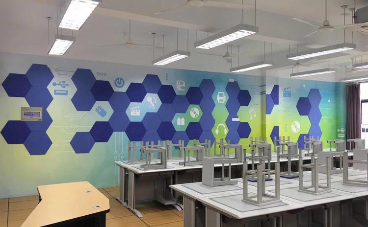 聚酯纤维吸音板厂家教你怎样处理聚酯纤维吸音板