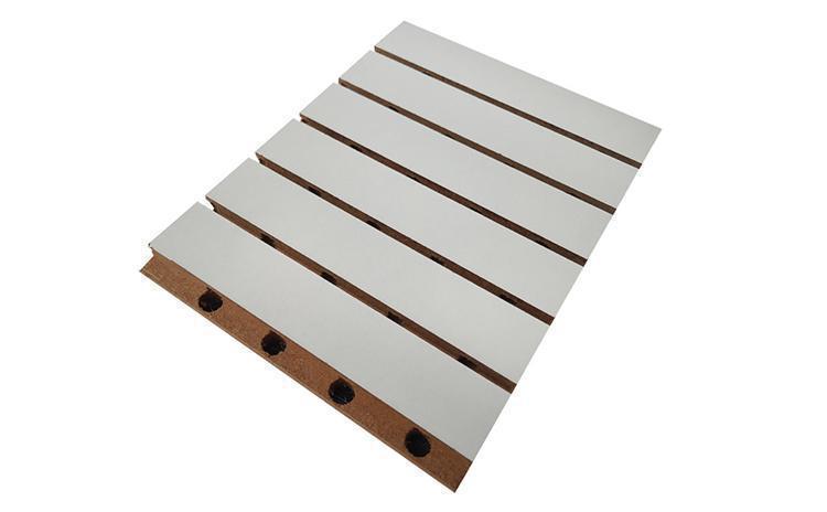 乒乓球馆装修方案用木质墙面吸音板