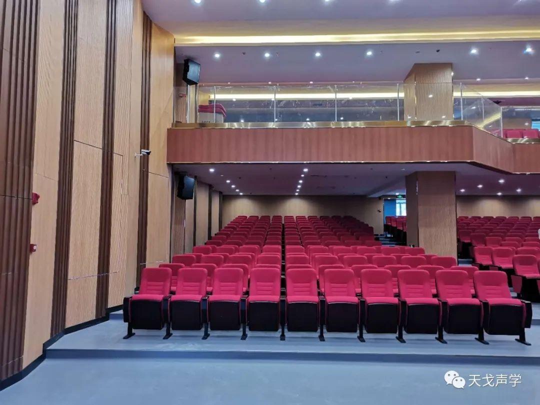广东惠州京师荟成学校礼堂声学设计工程-7
