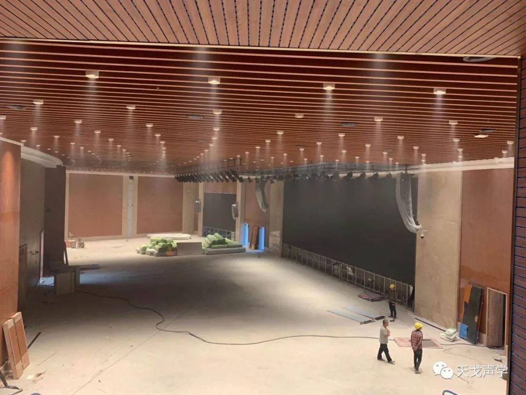 广东广州南沙滨海会展中心会议大厅声学设计工程-3