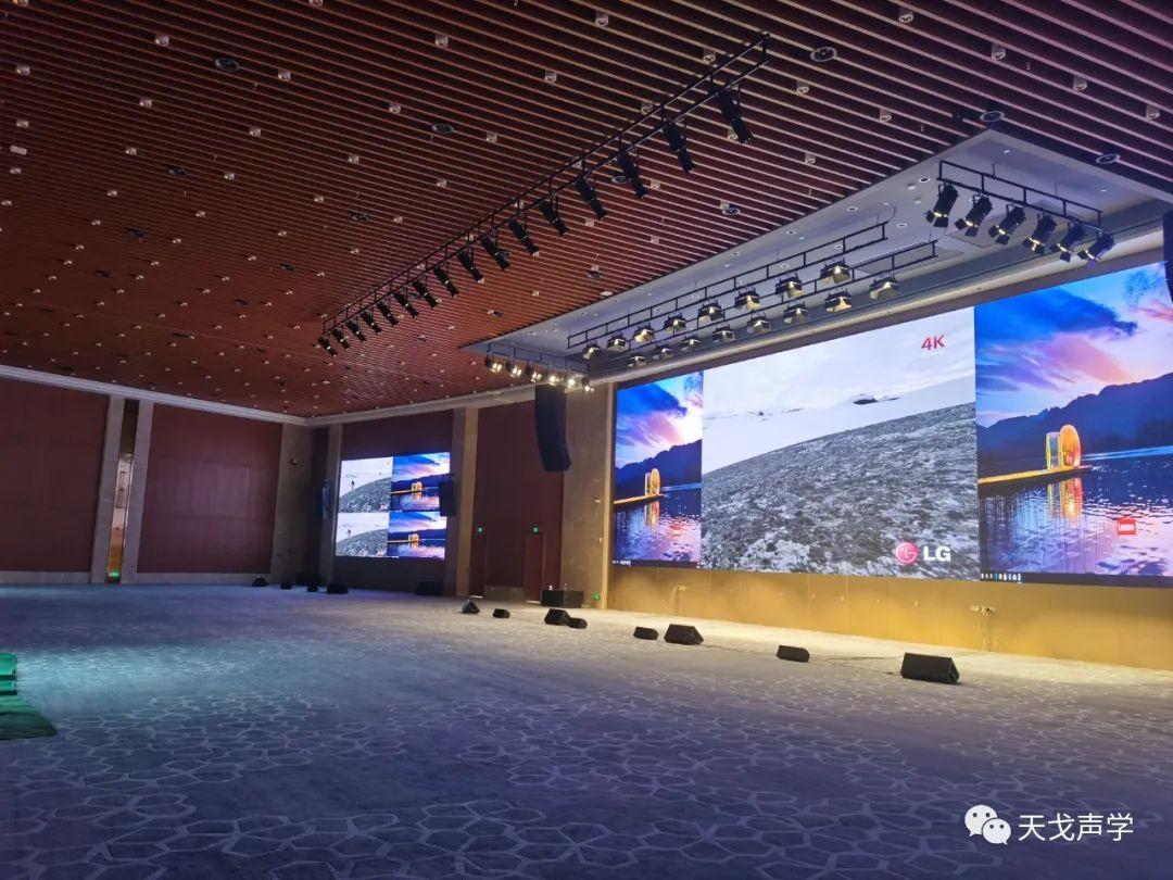 广东广州南沙滨海会展中心会议大厅声学设计工程-4