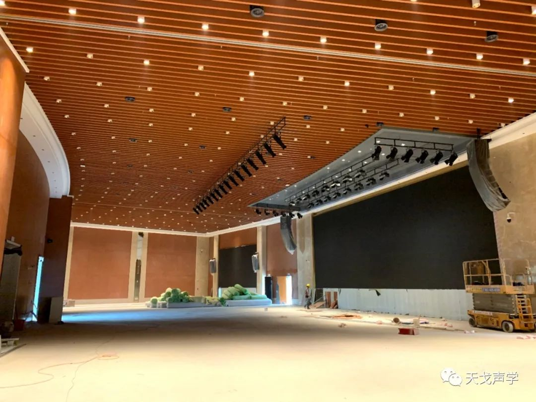 广东广州南沙滨海会展中心会议大厅声学设计工程-5