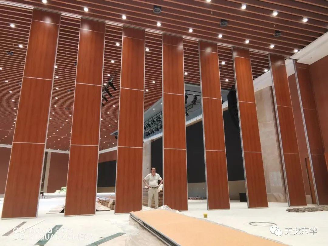 广东广州南沙滨海会展中心会议大厅声学设计工程-8