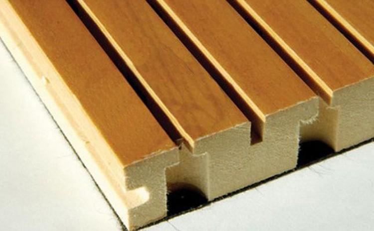 报告厅声学设计用槽木吸音板
