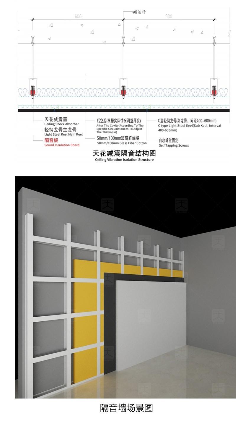 隔音板安装结构