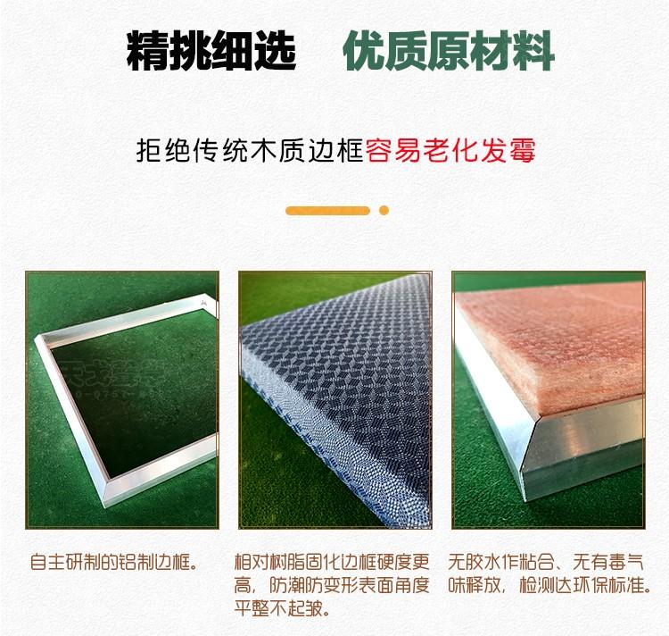 铝边框软包吸音板原材料