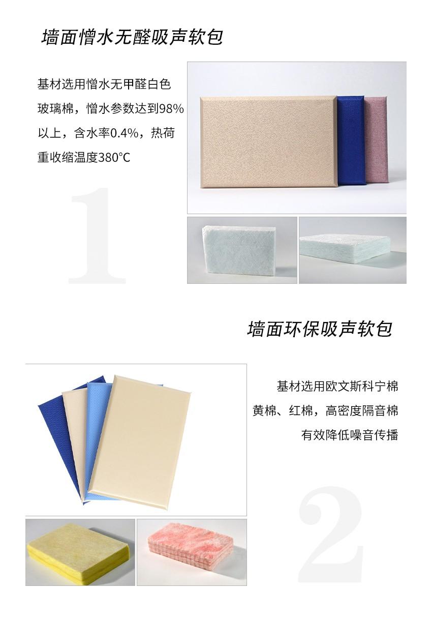 墙面软包吸音板产品分类