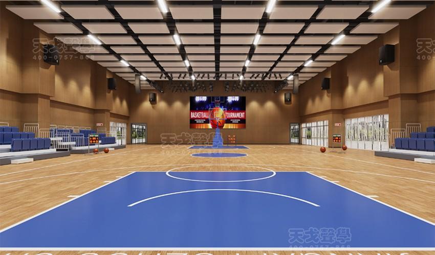 江西抚州市城南学校体育馆声学设计工程