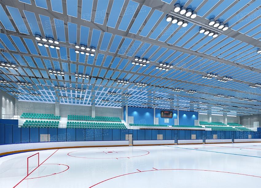 黑龙江黑河北安区冰球馆声学设计工程-0