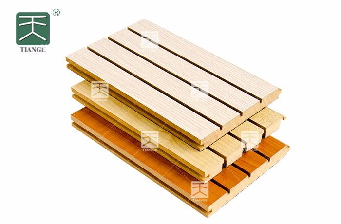 环保槽木吸音材料